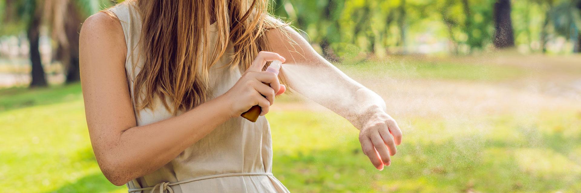 DIY Essential Oil Bug Repellent Spray